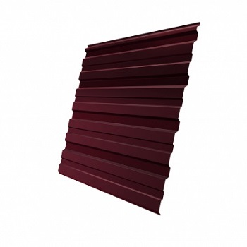 Профнастил С10 RAL 3005 двухсторонний (красное вино)