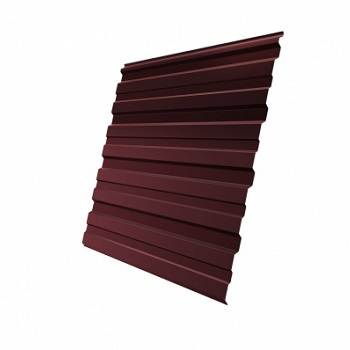 Профнастил С10 RAL 3009 (оксидно-красный)