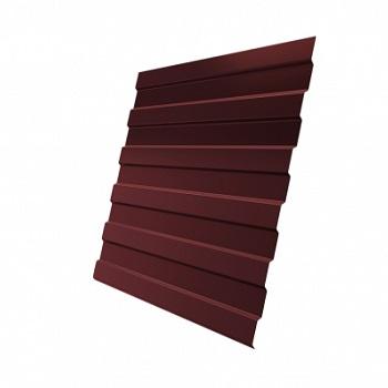 Профнастил С8 RAL 3009 оксидно-красный