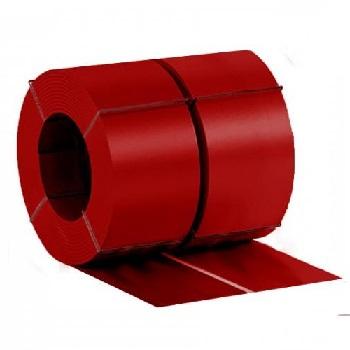 Штрипс с полимерным покрытием Ral 3011 (красно-коричневый)