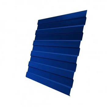 Профнастил С8 RAL 5005 (сигнальный синий)