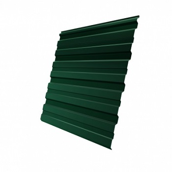 Профнастил С10 RAL 6005 двухсторонний (зеленый мох)