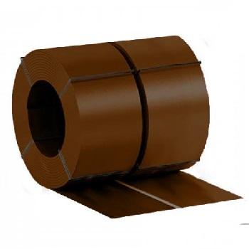 Штрипс с полимерным покрытием Ral 8017 (шоколадно-коричневый)