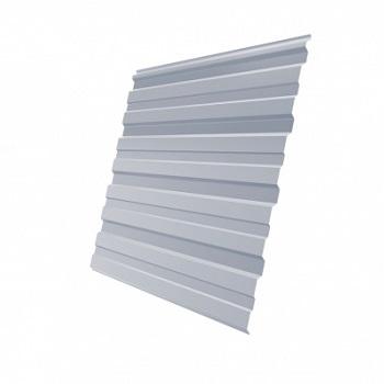 Профнастил С10 RAL 9006 (бело-алюминиевый)