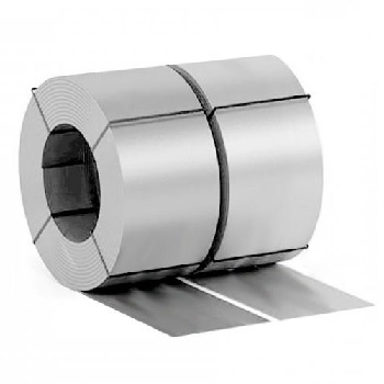 Штрипс оцинкованный с полимерным покрытием Ral 9006 (Бело-алюминиевый)