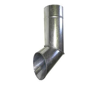 Отлив водосточный оцинкованный 100 мм фальцевый