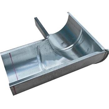 Угол желоба 216 мм оцинкованный 90 гр