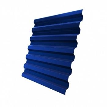 Профнастил С21 RAL 5005 (сигнальный синий)