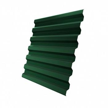 Профнастил С21 RAL 6005 (зеленый мох)