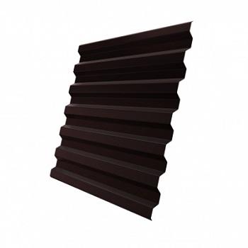 Профнастил С21 RAL 8017 (шоколадно-коричневый)