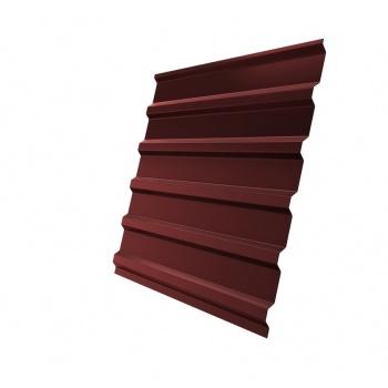 Профнастил С20 RAL 3009 оксидно-красный