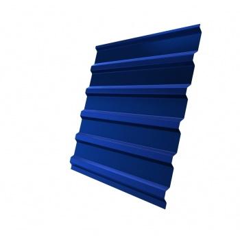Профнастил С20 RAL 5005 сигнальный синий