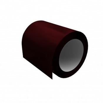 цинкованный рулон с полимерным покрытием Ral 3005 (красное вино)