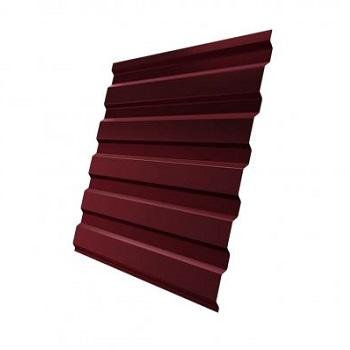 Профнастил МП20 RAL 3005 (красное вино) двухсторонний