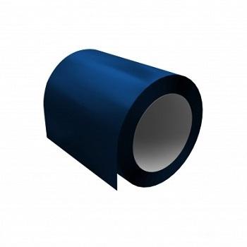 Оцинкованный рулон с полимерным покрытием Ral 5005 (сигнальный синий)