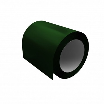 Оцинкованный рулон с полимерным покрытием Ral 6005 (зеленый мох)