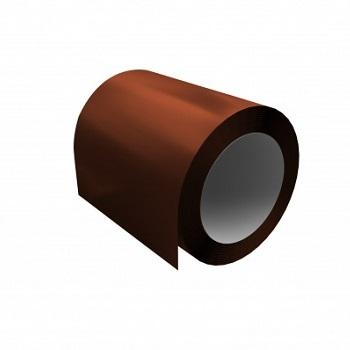 Оцинкованный рулон с полимерным покрытием Ral 8004 (терракотовый)