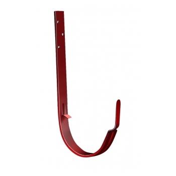 Крюк длинный 125 мм RAL 3011 коричнево-красный