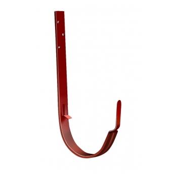 Крюк длинный 125 мм RAL 8004 терракота
