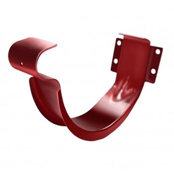 Крюк короткий 125 мм RAL 3011 коричнево-красный