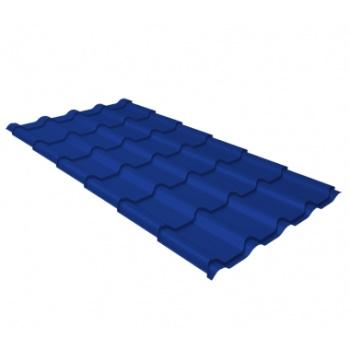 Металлочерепица камея RAL 5002 ультрамариново-синий