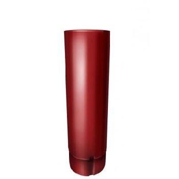 Труба водосточная Grand Line 90 мм 3 м RAL 3011 коричнево-красный
