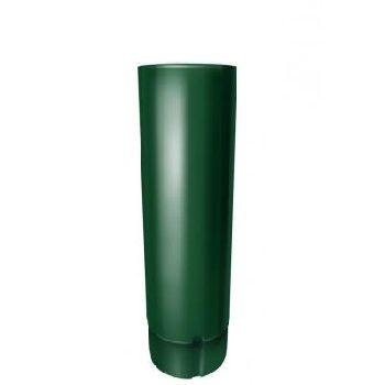 Труба водосточная Grand Line 90 мм 3 м RAL 6005 зеленый мох