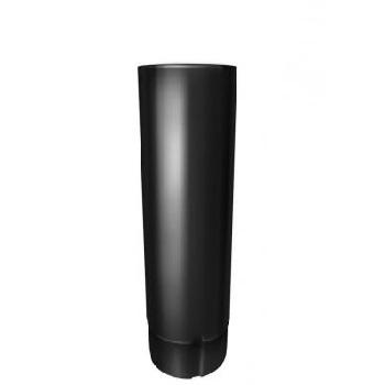 Труба водосточная Grand Line 90 мм 3 м RAL 9005 черный