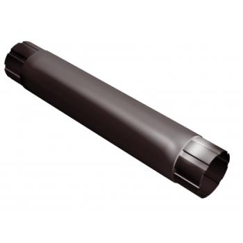 Труба водосточная Grand Line 100 мм 1 м RAL 8017 шоколад