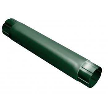 Труба водосточная Grand Line 90мм 1м RAL 6005 зеленый мох