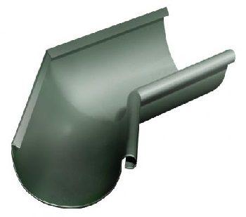 Угол желоба Grand Line внутренний 135 гр 125 мм RAL 11