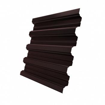 Профнастил Н75 Ral 8017 (Шоколадно-коричневый)