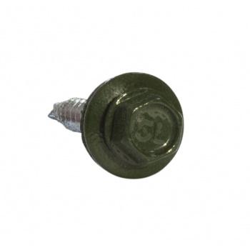 Кровельные саморезы 4.8х35 RAL 6020 зеленый хром