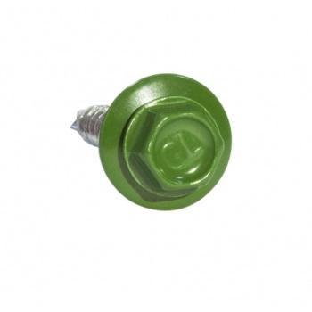Кровельные саморезы 5.5х25 RAL 6002 Зеленая листва