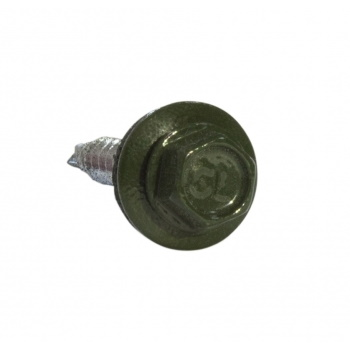 Кровельные саморезы 5.5х25 RAL 6020 зеленый хром