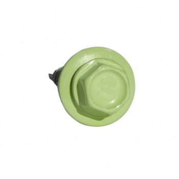 Кровельные саморезы 5.5х25 RAL 6019 бело-зеленые