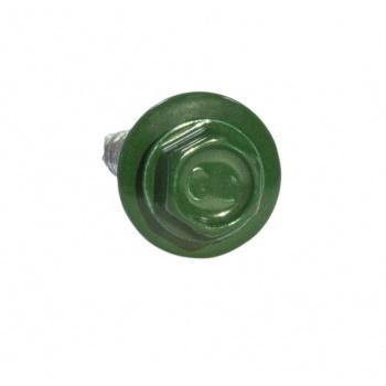 Саморезы 4,8х35 RAL 6005 Зеленый мох