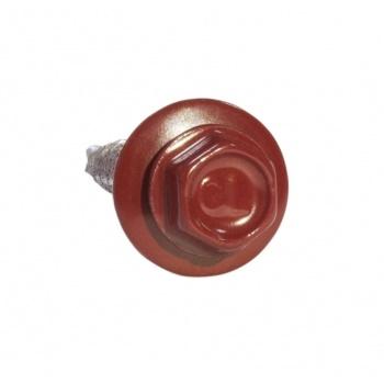 Саморезы 5,5х25 RAL 3003 Красный рубин