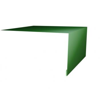 Планка околооконная простая 200х75 Ral6002