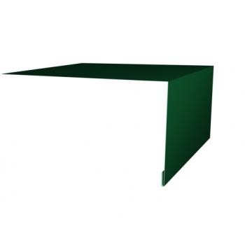 Планка околооконная простая 200х75 Ral6005
