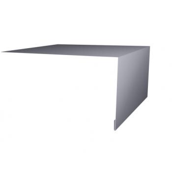 Планка околооконная простая 200х75 Ral7004