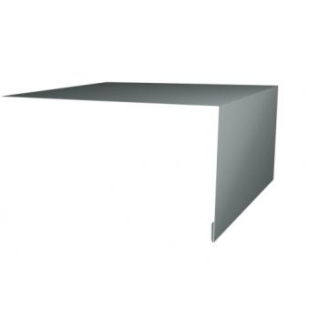 Планка околооконная простая 200х75 Ral7005