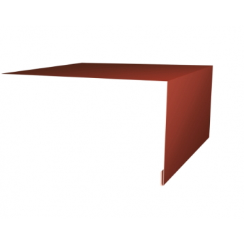 Планка околооконная простая 200х75 Ral8004