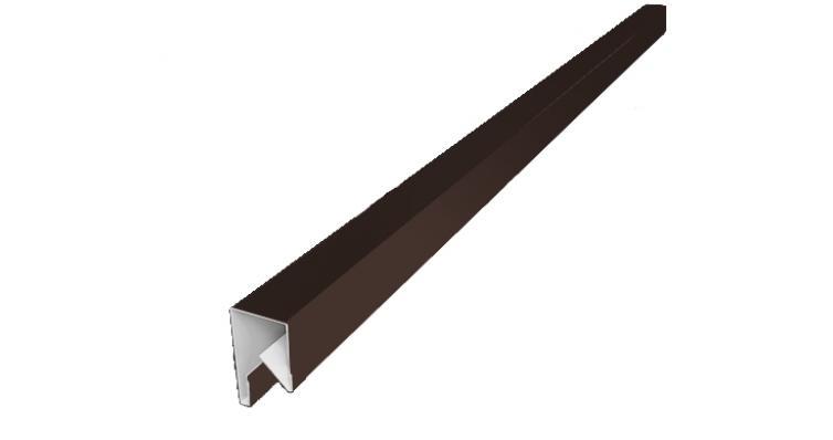 Планка П-образная заборная 170мм
