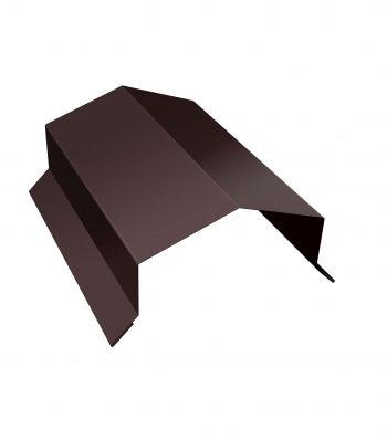 Парапет коричневый
