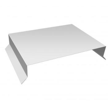 Парапетная крышка прямая Ral 9003