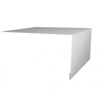 Планка околооконная простая 200х75 Ral9003