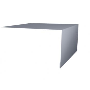 Планка околооконная простая 200х75 Ral9006