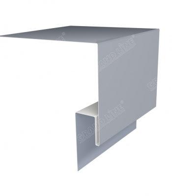 Планка околооконная сложная 200х50 мм (j-фаска)