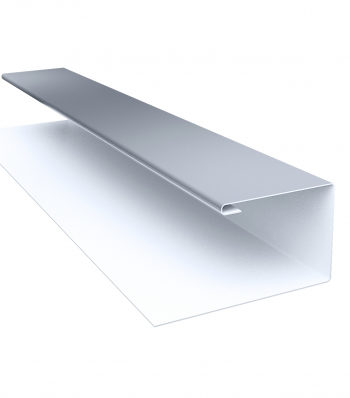 Планка П-образная RAL 9006